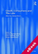 Cover of Credit, Consumers and The Law: After the Global Storm (eBook)