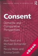 Cover of Consent: Domestic and Comparative Perspectives (eBook)
