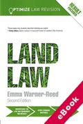 Cover of Optimize Land Law (eBook)