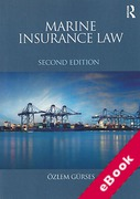 Cover of Marine Insurance Law (eBook)