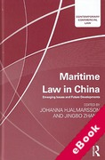 Cover of Maritime Law in China: Emerging Issues and Future Developments (eBook)