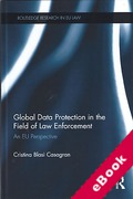 Cover of Global Data Protection in the Field of Law Enforcement (eBook)