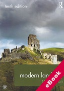 Cover of Modern Land Law (eBook)