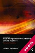 Cover of Value Making in International Economic Law and Regulation: Alternative Possibilities (eBook)