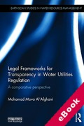 Cover of Legal Frameworks for Transparency in Water Utilities Regulation: A Comparative Perspective (eBook)