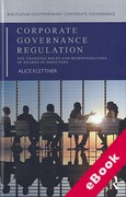 Cover of Corporate Governance Regulation: The Changing Roles and Responsibilities of Boards of Directors (eBook)