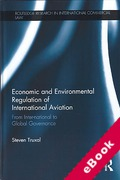 Cover of International Aviation: Multilevel Economic and Environmental Regulation (eBook)