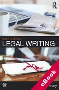 Cover of Legal Writing (eBook)