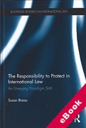 Cover of The Responsibility to Protect in International Law: An Emerging Paradigm Shift (eBook)
