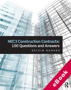 Cover of NEC3 Construction Contracts: 100 Questions and Answers (eBook)