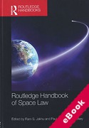 Cover of Routledge Handbook of Space Law (eBook)