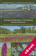 Cover of Ecological Restoration in International Environmental Law (eBook)