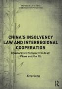 Cover of China's Insolvency Law and Interegional Cooperation