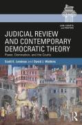 Cover of Judicial Review and Contemporary Democratic Theory: Power, Domination, and the Courts