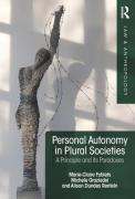 Cover of Personal Autonomy in Plural Societies: A Principle and its Paradoxes
