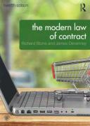 Cover of The Modern Law of Contract