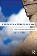 Cover of Research Methods in Law
