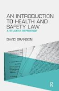 Cover of Introduction to Health and Safety Law: A Student Reference