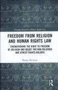 Cover of Freedom from Religion and Human Rights Law