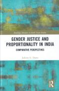 Cover of Gender Justice and Proportionality in India: Comparative Perspectives