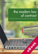 Cover of The Modern Law of Contract (eBook)