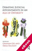 Cover of Debating Judicial Appointments in an Age of Diversity (eBook)