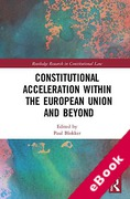 Cover of Constitutional Acceleration within the European Union and Beyond (eBook)