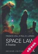 Cover of Space Law: A Treatise (eBook)