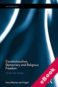 Cover of Constitutionalism, Democracy and Religious Freedom (eBook)