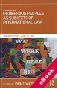 Cover of Indigenous Peoples as Subjects of International Law (eBook)