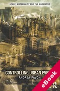 Cover of Controlling Urban Events: Law, Ethics and the Material (eBook)
