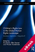 Cover of Children's Rights Law in the Global Human Rights Landscape: Isolation, Inspiration, Integration? (eBook)