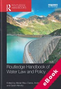 Cover of Routledge Handbook of Water Law and Policy (eBook)