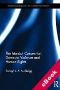 Cover of The Istanbul Convention, Domestic Violence and Human Rights (eBook)