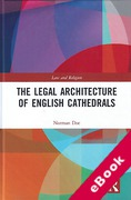 Cover of The Legal Architecture of English Cathedrals (eBook)