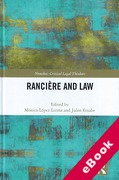 Cover of Ranciere and Law (eBook)