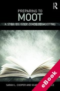 Cover of Preparing to Moot: A Step by Step Guide to Mooting (eBook)