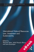 Cover of International Natural Resources: Law, Investment and Sustainability (eBook)