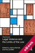 Cover of Legal Violence and the Limits of the Law (eBook)