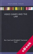 Cover of Video Games and the Law (eBook)