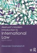 Cover of Akehurst's Modern Introduction to International Law