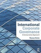 Cover of International Corporate Governance: A Comparative Approach