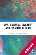 Cover of Law, Cultural Diversity, and Criminal Defense (eBook)