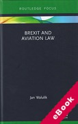 Cover of Brexit and Aviation Law (eBook)
