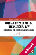 Cover of Russian Discourses on International Law: Sociological and Philosophical Phenomenon (eBook)