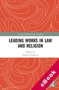 Cover of Leading Works in Law and Religion (eBook)