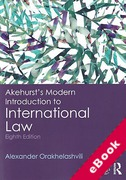 Cover of Akehurst's Modern Introduction to International Law (eBook)