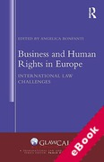 Cover of Business and Human Rights in Europe: International Law Challenges (eBook)