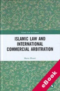 Cover of Islamic Law and International Commercial Arbitration (eBook)