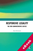 Cover of Responsive Legality: The New Administrative Justice (eBook)